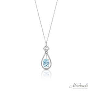 Aquamarine-diamond-necklace