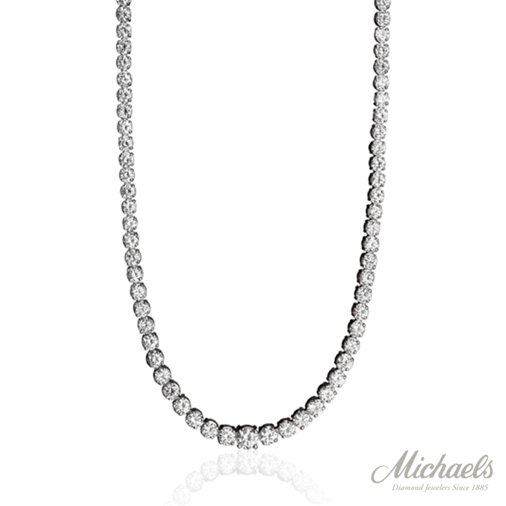 PLATINUM RIVIERA DIAMOND NECKLACE