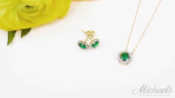 Emerald-Yellow-Gold-Halo-Diamond-Set (3)