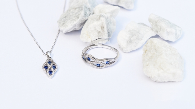 Sapphire-Diamond-Necklace-Ring